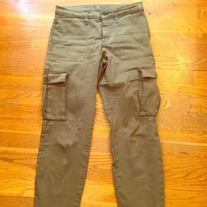 Yoga jeans brand cargo pants